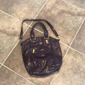 Purple Kate Landry purse.